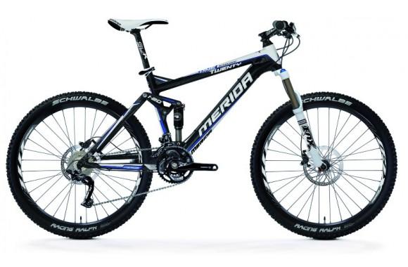 Двухподвесный велосипед Merida One-Twenty Carbon XT-D (2012)